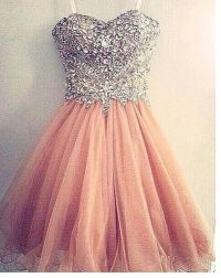 A dress for prom a very pretty pink and silver dress for ...