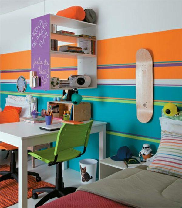 Kinderzimmer komplett gestalten u2013 wenn Junge und Mädchen einen - kinderzimmer blau mdchen