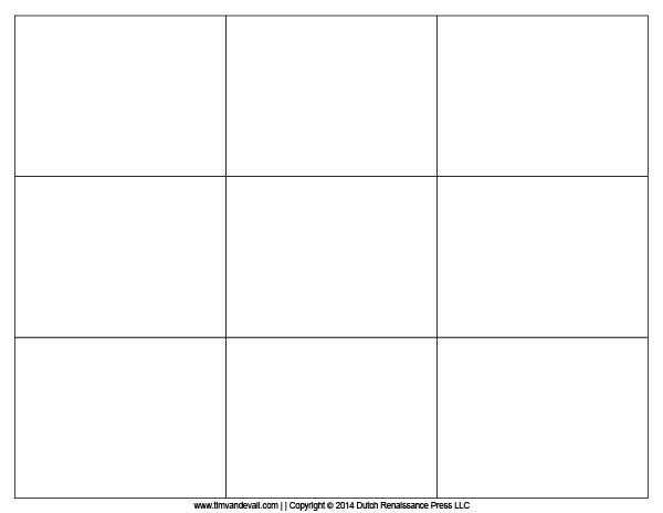 Blank Flash Card Template Study - Изучение - Opiskelu - blank card template