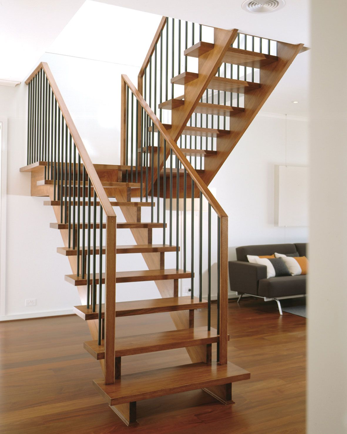 Interior Staircase Designs Stunning Staircase Designs In Home Interior With Wooden