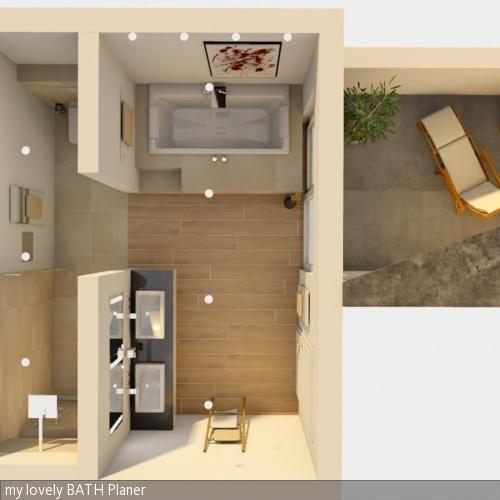 Badplanung Grundriss Bath, House and Interiors - badezimmer planen online design inspirations