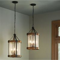 Shop Kichler Lighting Barrington 12.01-in W Distressed ...