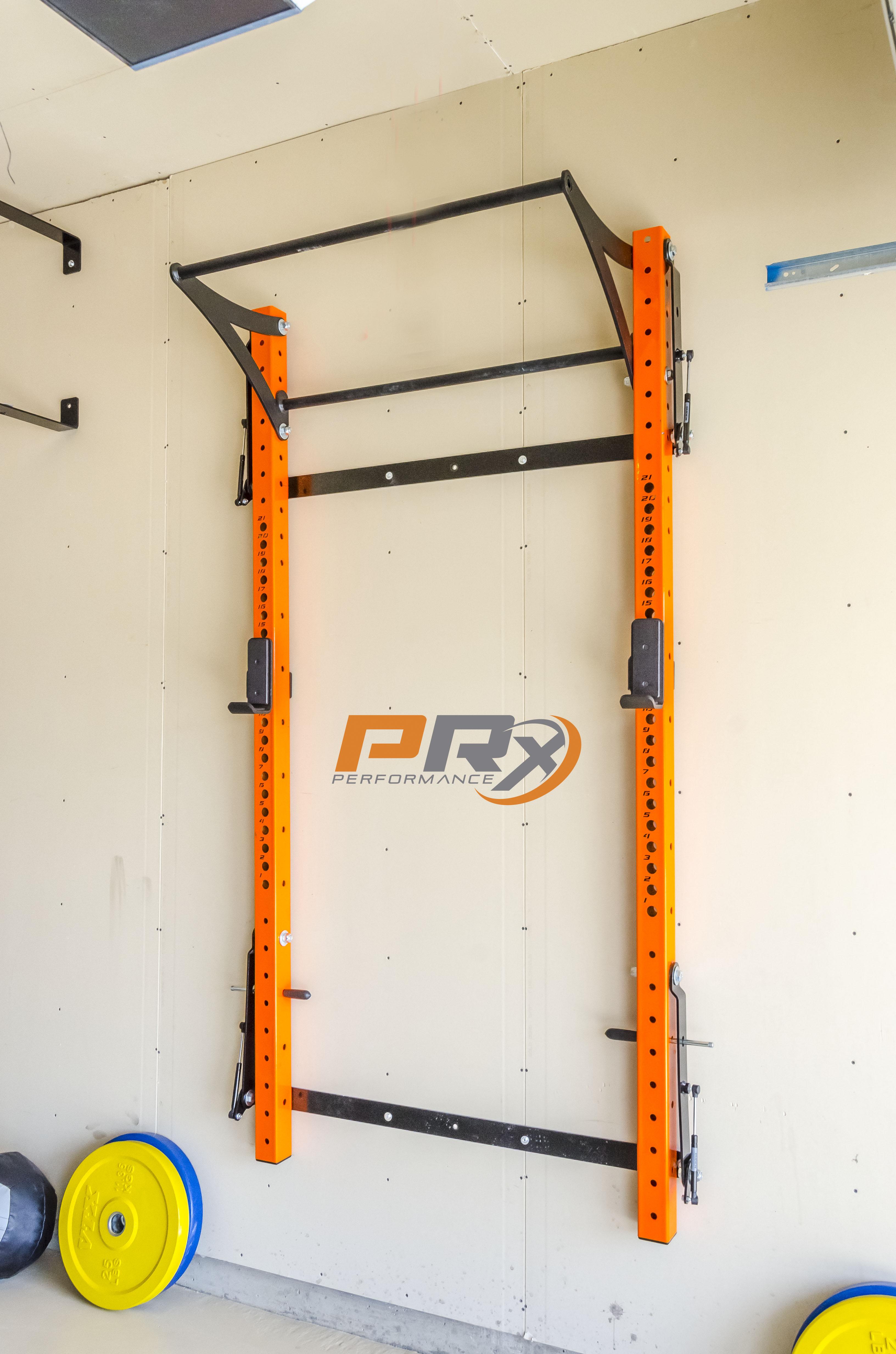 Prx profile rack best space saving squat rack youtube