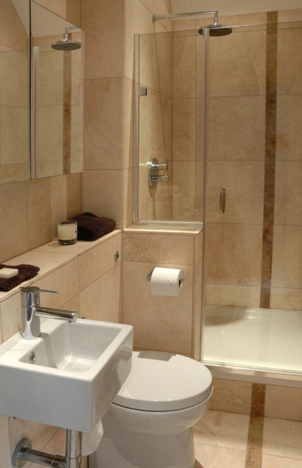 badideen kleines bad badewanne dusche badfliesen Wohnidee - badideen fur kleine bader