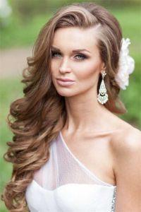 wedding hairstyles for long hair down   Weddings ...