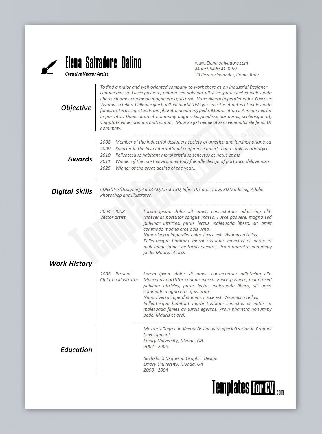 format of resume for job in word professional resume cover format of resume for job in word resumes and cover letters templatesoffice word resume template resume
