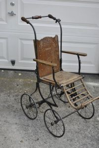 Antique Victorian 1800s Baby Child Stroller Buggy ...