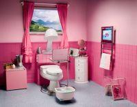 Beautiful Pink Teenage Bathroom Design by Aquaplus : Girls ...