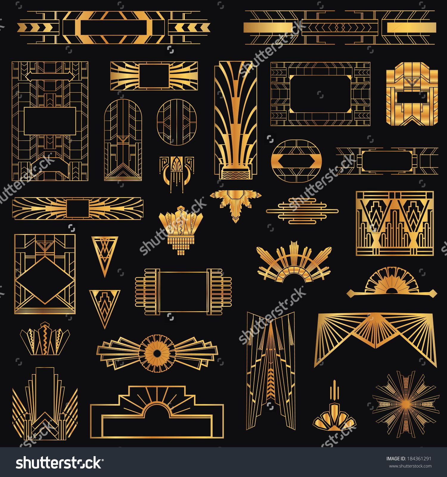 Photo Art Deco Art Deco Elements Graphic Designs Google Search Art
