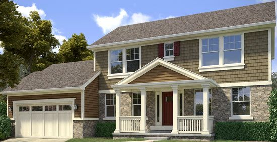 Two Story Home, Enhance, The Designed Exterior, Coordiniating
