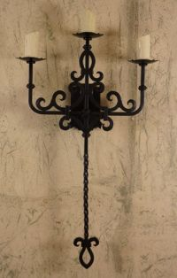 Presidio Sconce | Hacienda style, Spanish revival and ...
