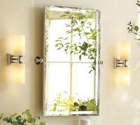 "Kensington Pivot Mirror | Pottery Barn - Dimensions - 23""W ..."