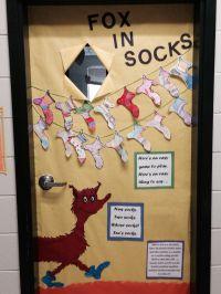 Fox In Socks door   Education   Pinterest   Foxes and ...