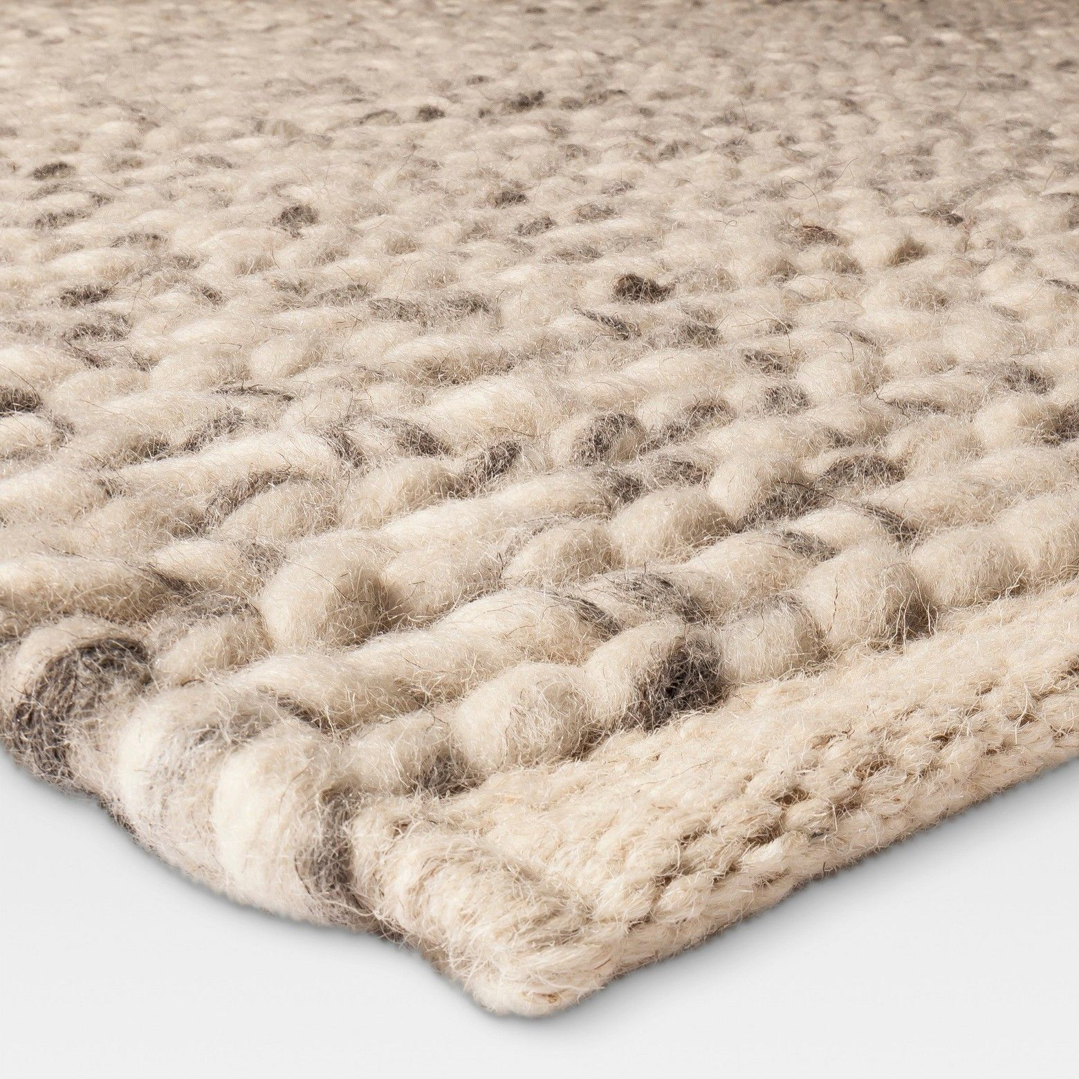 Woven Wool Rug Project 62 Chunky Knit Braided Wool Rug Wool Rug