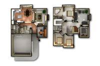 3d 2 Story Floor Plans | www.imgkid.com - The Image Kid ...
