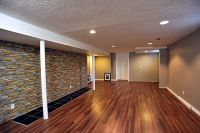 Low ceiling basement ideas combined with glamorous ...