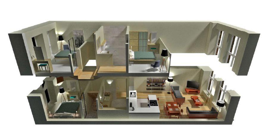 Design A House - 2 storey house design plans 3d inspiration - 3d house plans