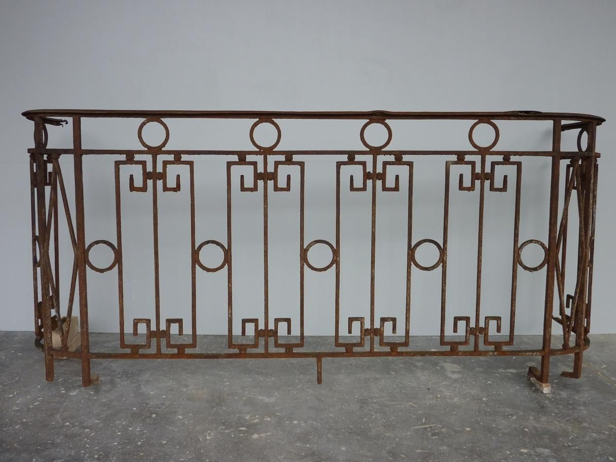 Grille Fer Forge Ancienne Occasion Balcon Garde Corps Ancien Fer Forge Louis Xvi 730 Pf 1