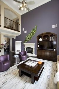 Living Room Purple Design, Pictures, Remodel, Decor and ...