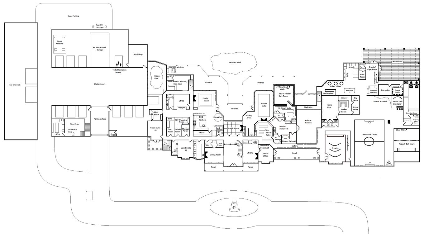 Ultimate mega mansion floor plans votes 2 00 avg rating 47 score