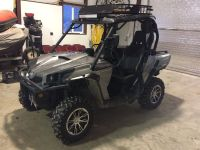 Canam commander 1000 LTD roof rack and led bar | Side by ...