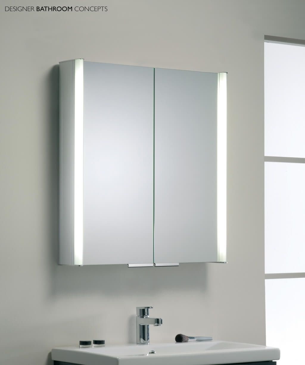 Mirrored Bathroom Cupboard Bathroom Mirror Cabinet With Light And Standalone Bahtroom