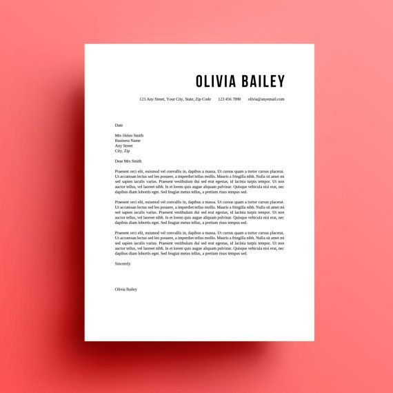download cover letter design template letters week resume and - cover letter designs