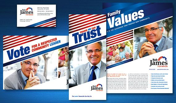 Political Campaign Flyer Ad Template Word Publisher 9 Election