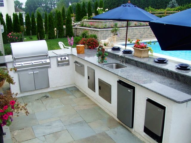 20 Amazing Outdoor Kitchen Ideas and Designs Outdoor kitchen - outside kitchen ideas