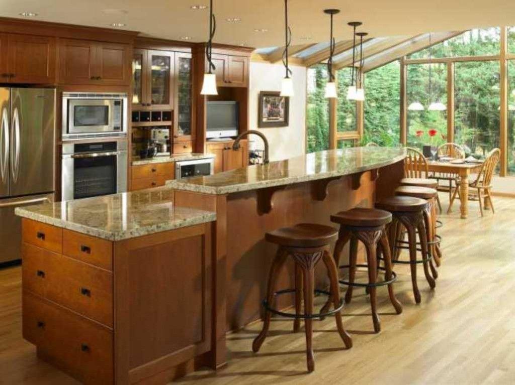 Two Level Kitchen Island Kitchen Counter Pinterest Kitchens - kitchen islands designs