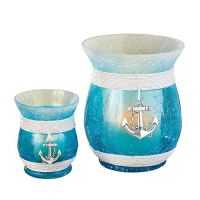 Nautical Hurricane Candle Holders - Set of 2 | Hurricane ...