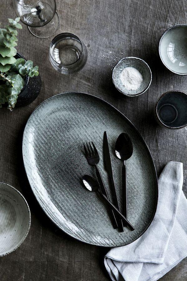 Gedeckter Tisch \/ Tischdeko \/ Broste Copenhagen Gedeckter Tisch - tisch decken mit modernem besteck