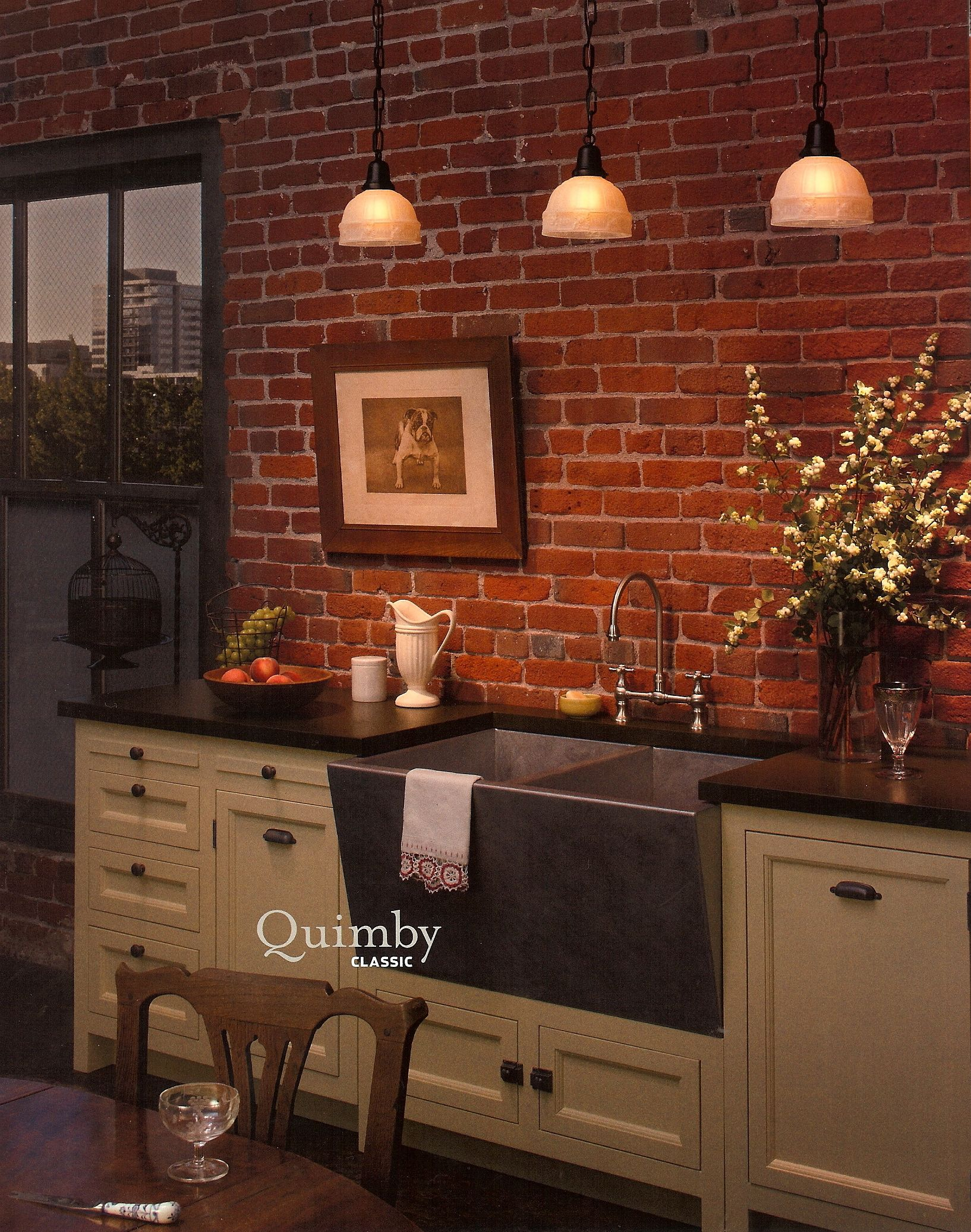 Kitchen Brick Wall Kitchen Inspiration Exposed Brick Kitchen Exposed Brick