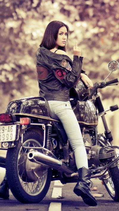 Bike iPhone | Motorcycle Girls | Pinterest | Wallpaper, Girl motorcycle and Biker chick