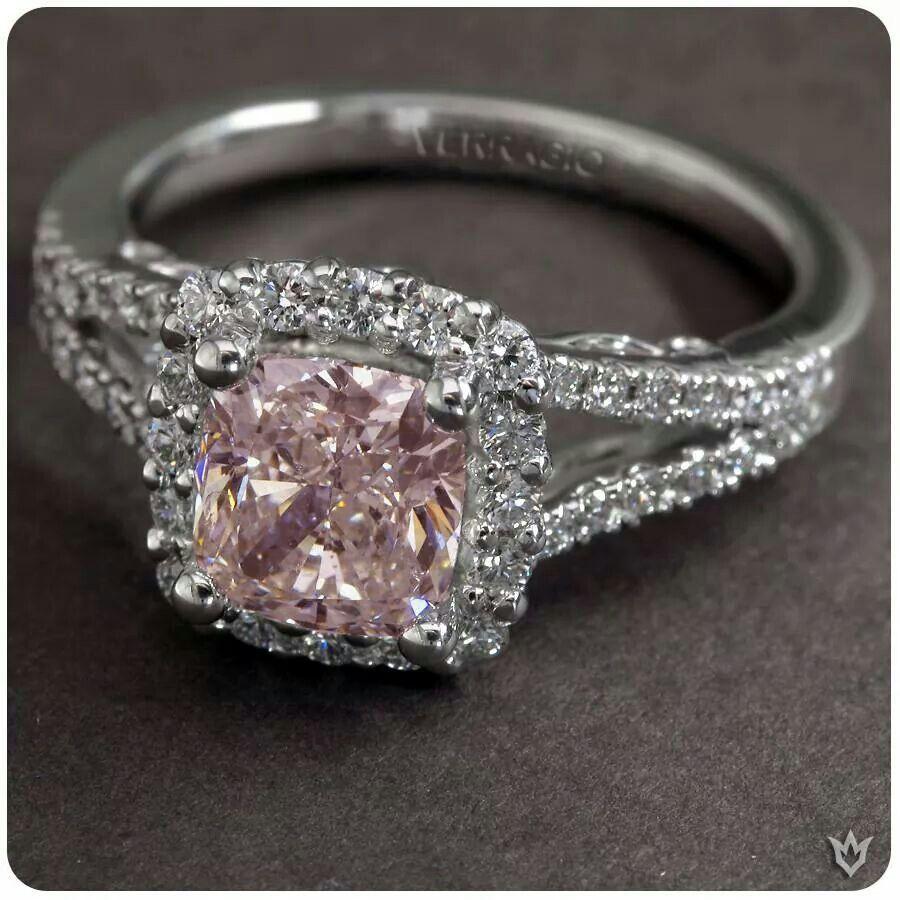 pink diamond wedding band Yes please Pink Diamond Wedding