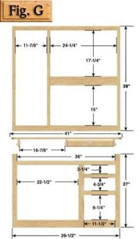 Hoosier Cabinet Plans - Kennedy Hardware LLC | Mine ...