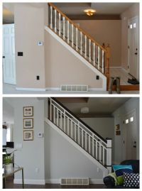 DIY Stair Railing Makeover | Stairs | Pinterest | Stair ...