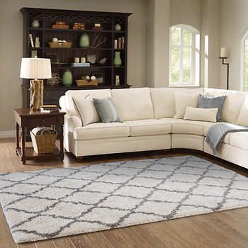 Thomasville Marketplace Luxury Trellis Shag Rugs Home Sweet Home - living room shag rug