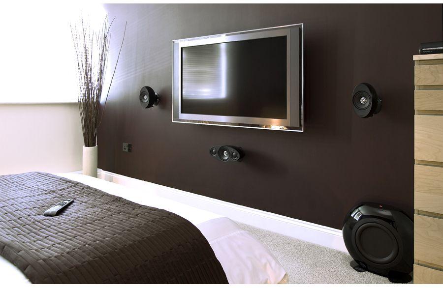 KEF Bedroom Setup HiFi Pinterest Bedroom setup, Room ideas - tv in bedroom ideas