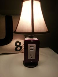 MINI Table or Desk lamp with USB charging station by ...