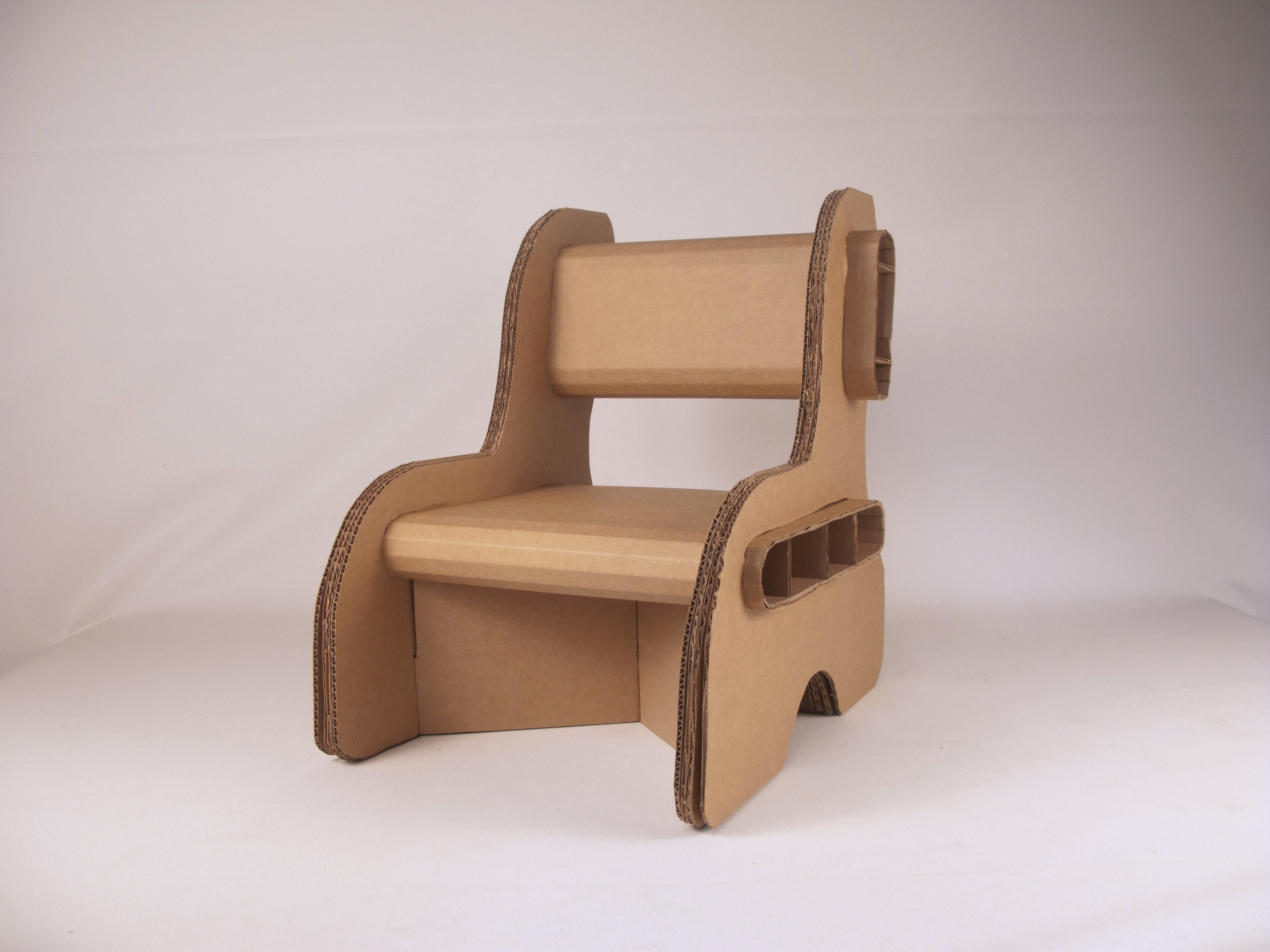 Cardboard chair template google search