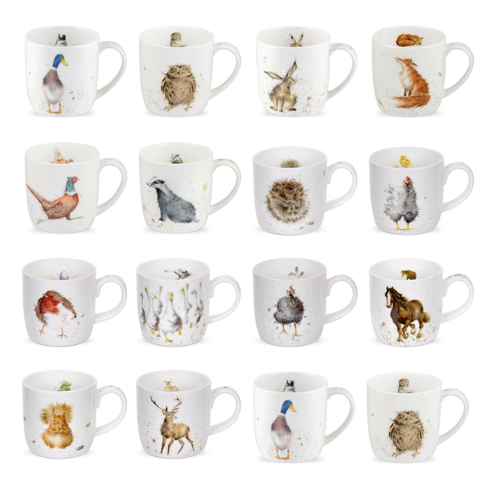 Animal Coffee Mug Wrendale Designs Countryside Animal Wild Animal Mugs