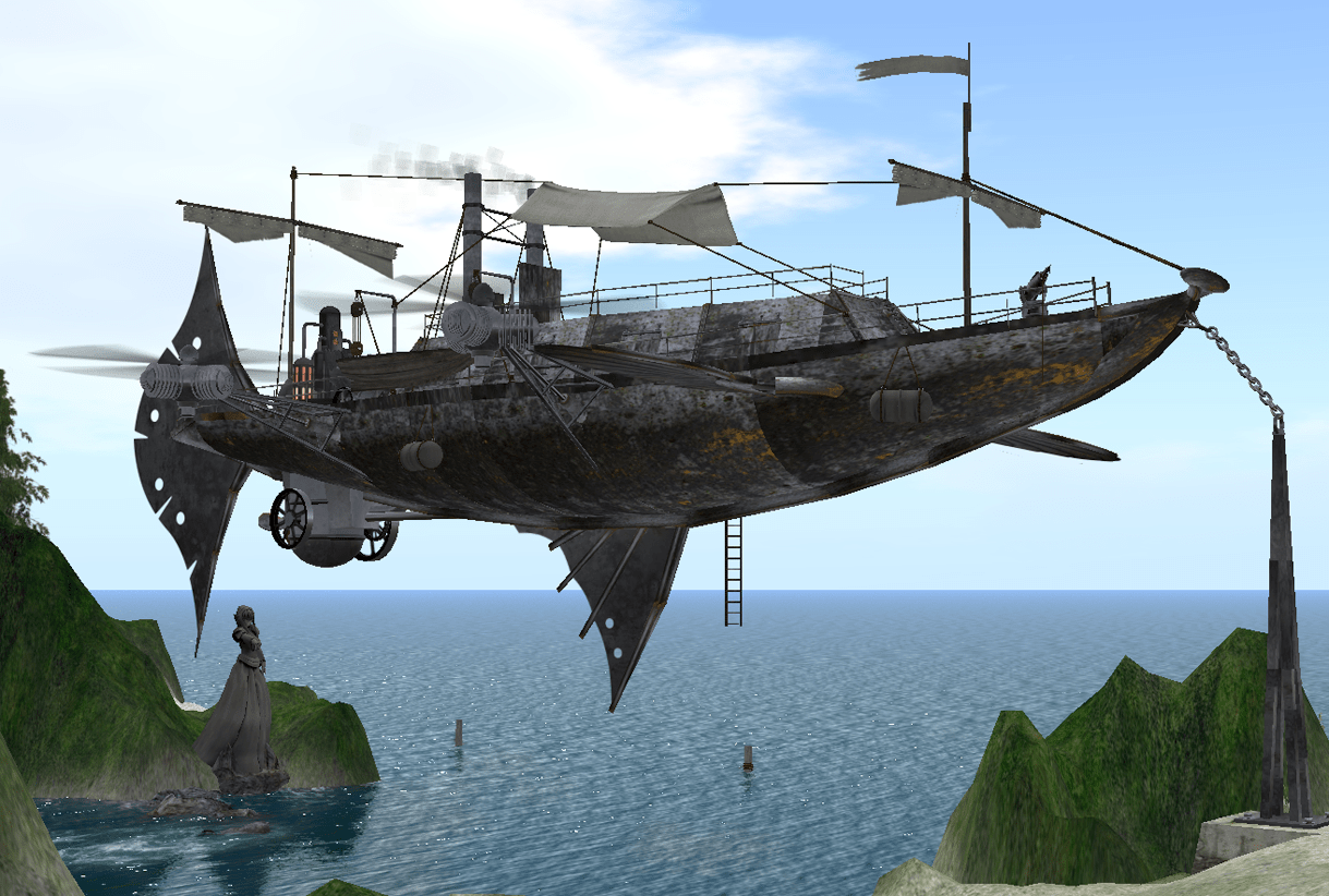 Steampunk Wohnung The Steampunk Tribune Airship Month What Type Of Airship