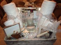 Bridal shower gift basket ideas. Ideasthatsparkle.com on