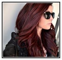 Dark Mahogany Brown Hair Color: The Braveness of Mahogany ...