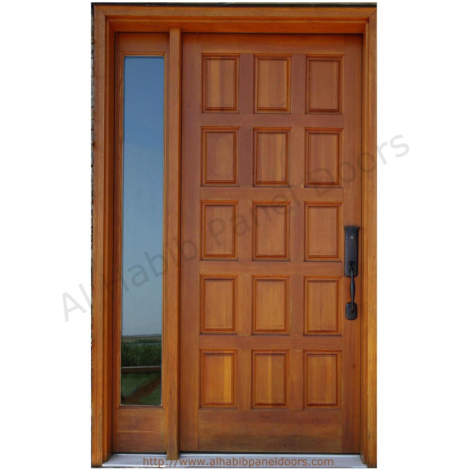 Solid wooden panel door with frame hpd427 solid wood doors al solid wooden panel door with frame hpd427 solid wood doors al