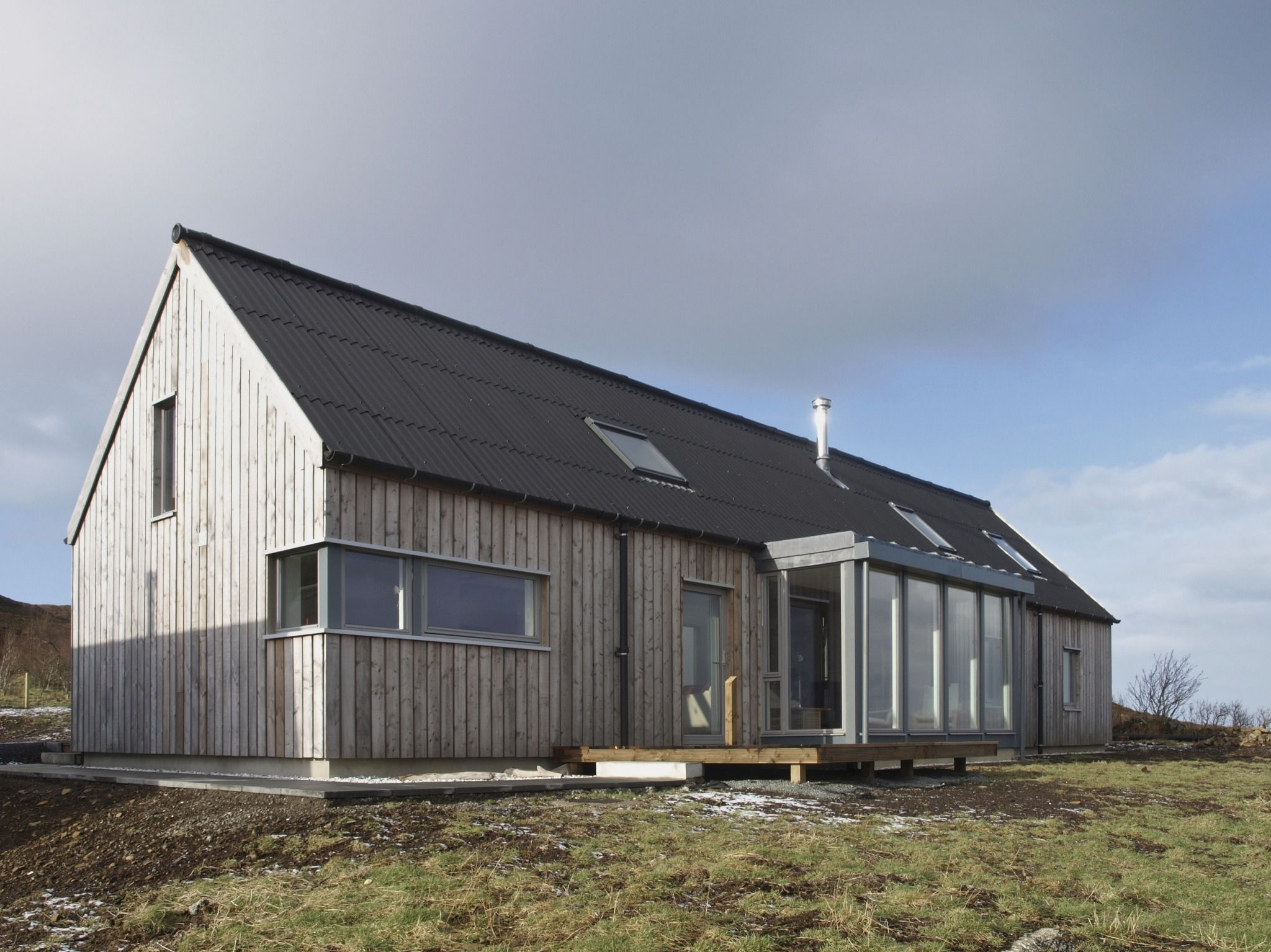 House Designs Scotland Husabost The Long House Rural Design Architects Isle