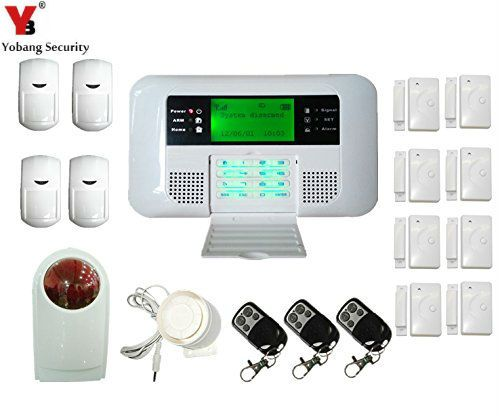 Yobang Security Wireless Wired GSM PSTN Intelligent security - home security ideas