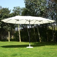 Outsunny 15ft Patio Umbrella Outdoor Sun Shade Canopy ...