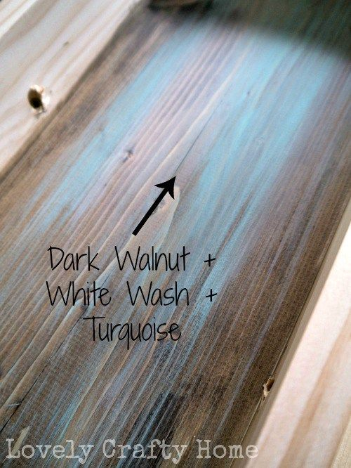 1000+ Images About Turquoise Wood Stain & Paint On Pinterest
